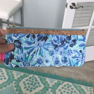 NWT Lilly Pulitzer Pencil Pouch Bag